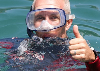 Snorkelling at Coverack