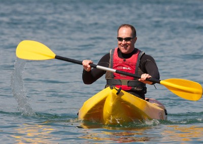 Kayaking at Coverack